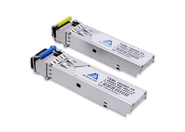 40km Simplex LC BIDI SFP Module Tx1310nm / Rx1550nm Optical Transceiver