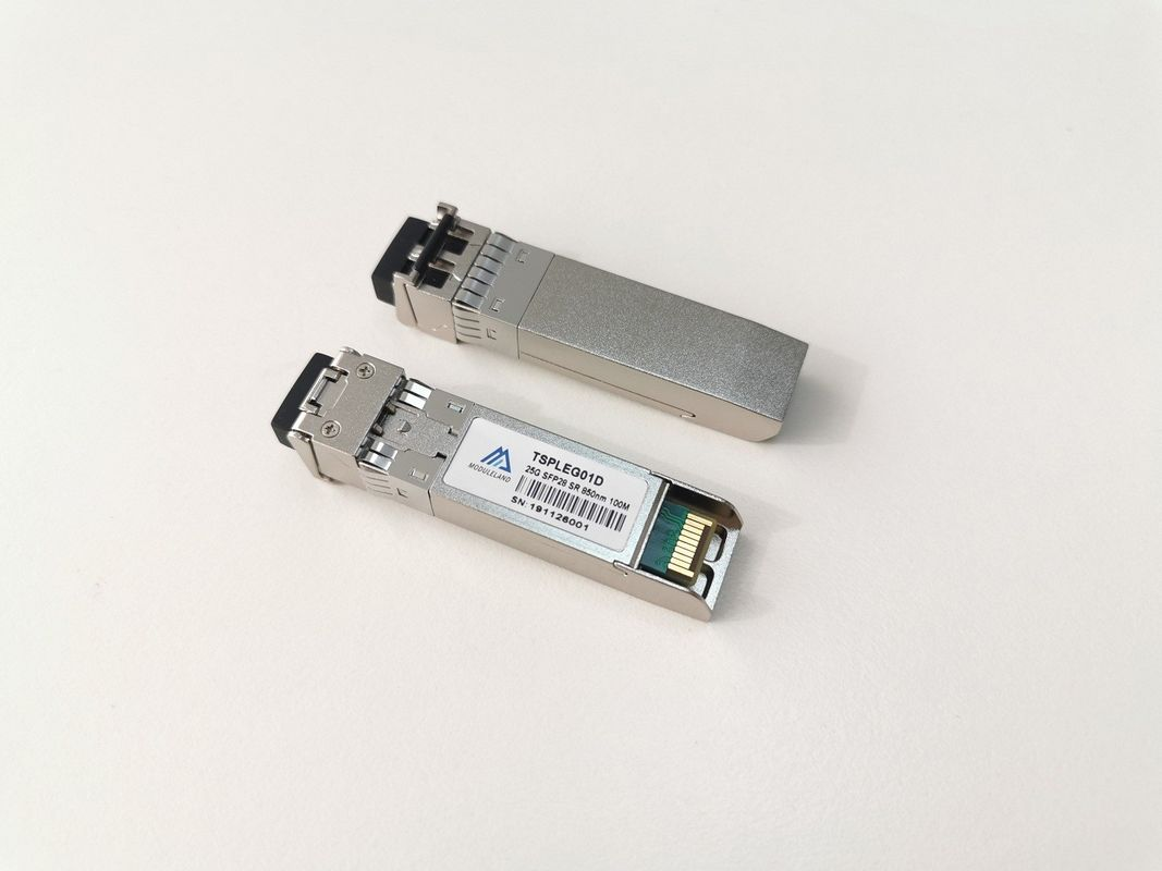 Compatible SFP Duplex , Optical SFP Transceiver 25Gbps Max Data Rate