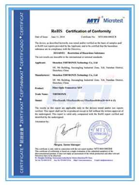 China Moduleland Technology Co., Ltd. Certification